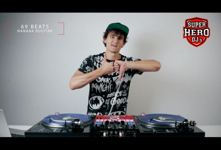 DJ 69BEATS - NANANA Routine - Disc jockey
