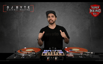 DJ BYTE / HORNS Routine