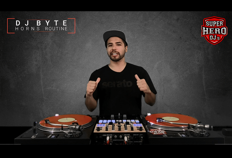 DJ BYTE / HORNS Routine - SUPER HERO DJs