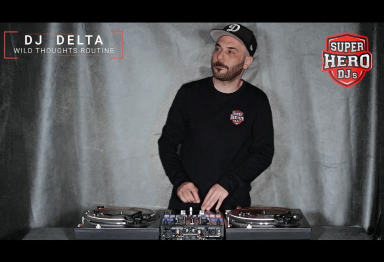 DJ DELTA - Wild Thoughts Toneplay - SUPERHERO DJs