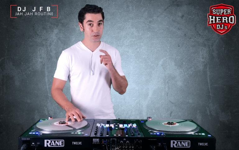 DJ JFB / JAH JAH Routine - T-shirt