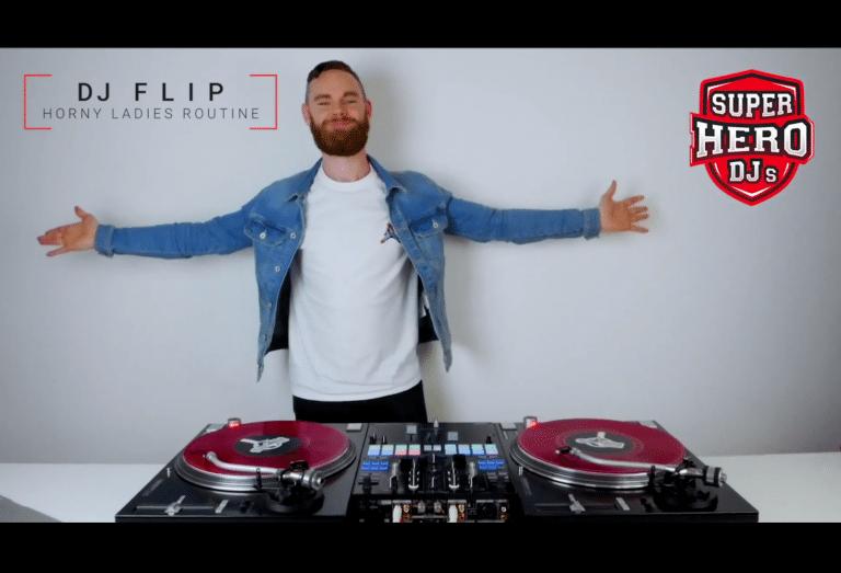 DJ FLIP - Horny Ladies Routine - T-shirt