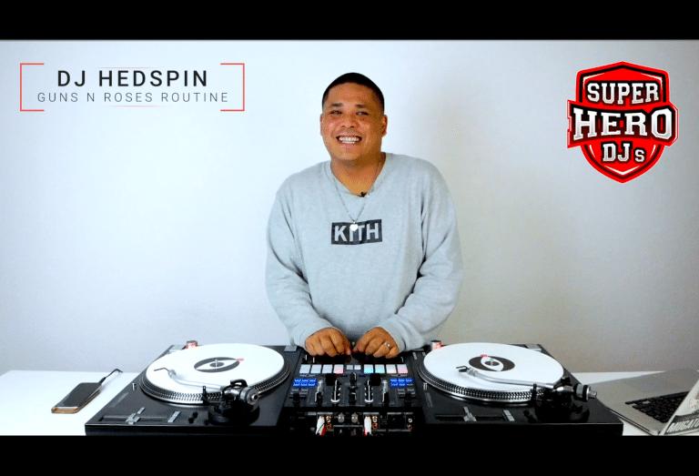 DJ HEDSPIN - Guns n' Roses Routine - Post Malone
