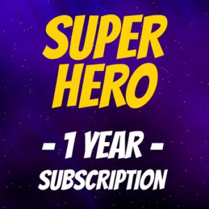 SUPER HERO - Logo