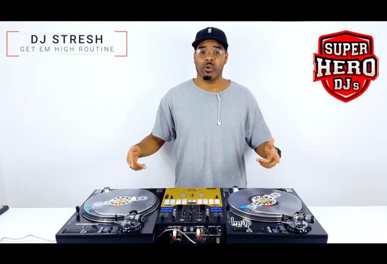DJ STRESH - Get Em High Routine - SUPERHERO DJs