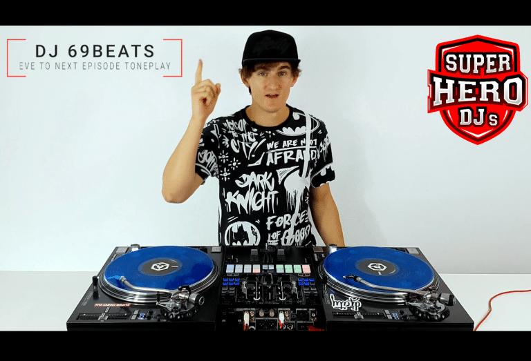 DJ 69BEATS - Eve to Next Episode Toneplay - Disc jockey