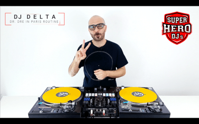 DJ DELTA – Dr. Dre in Paris Routine