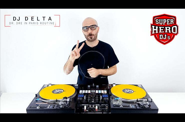 DJ DELTA – Dr. Dre in Paris Routine