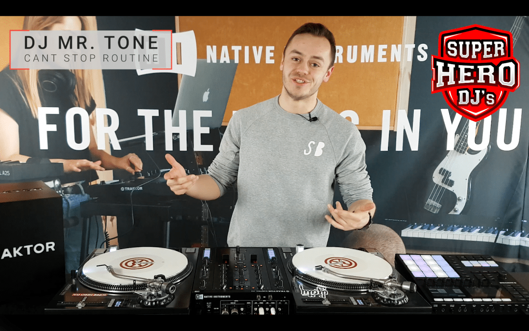 MR.TONE – Cant Stop Routine