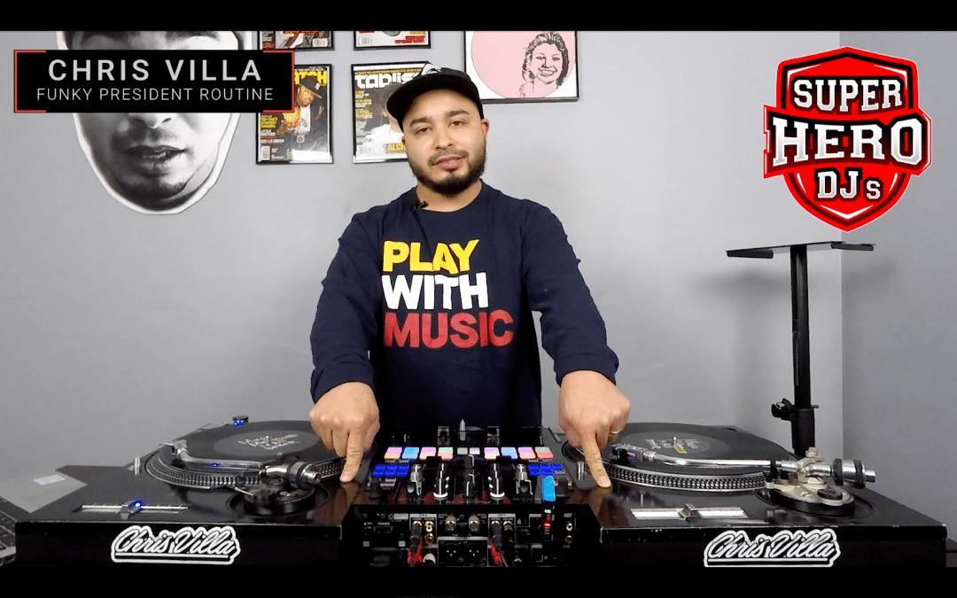 CHRIS VILLA – Funky President Routine