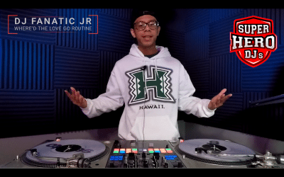 "DJ FANATIC JR  – ""Where'd the love go"" Routine"