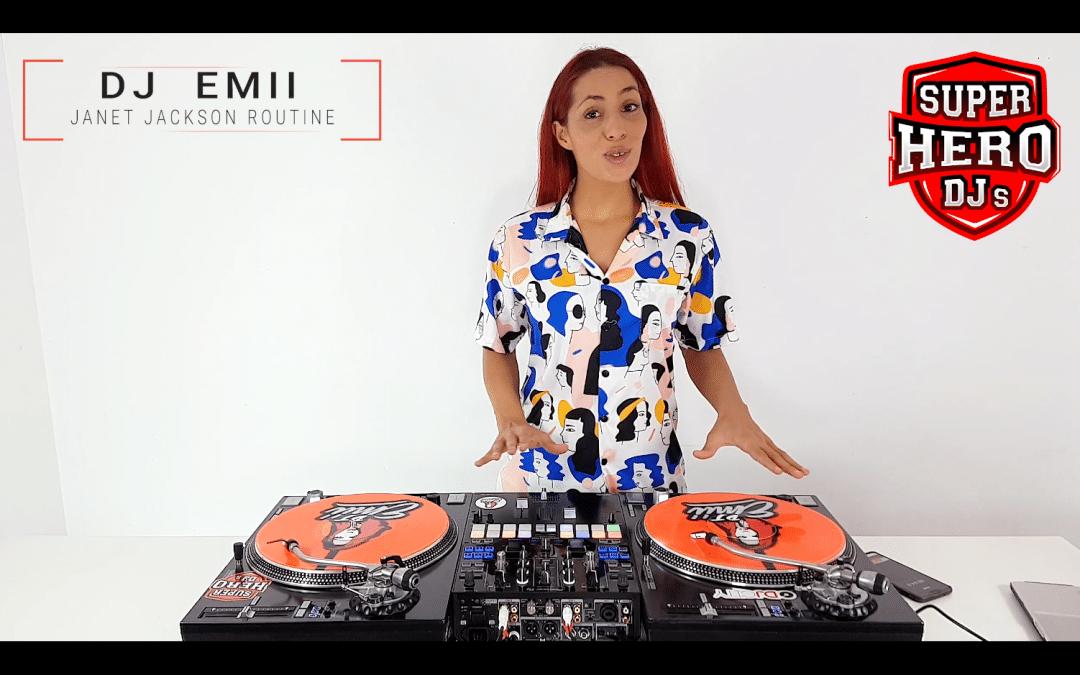 DJ EMII – Janet Jackson Routine