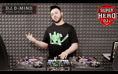 DJ D-MIND – Work Hard Routine