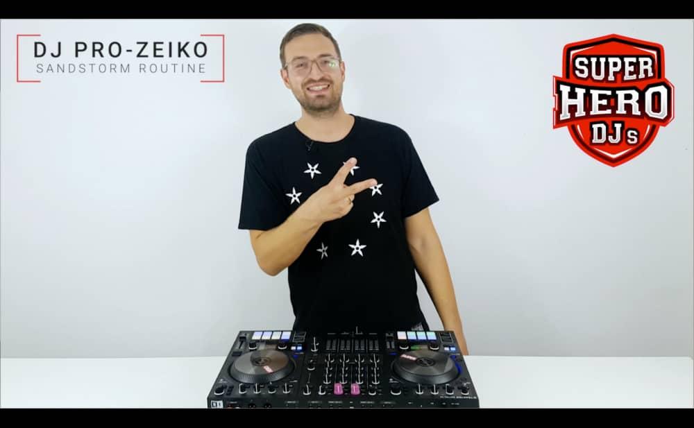 DJ PRO-ZEIKO – Sandstorm Routine