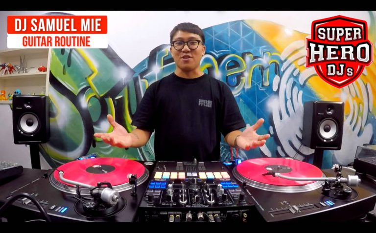 DJ SAMUEL MIE - Guitar Game Routine - SUPER HERO DJs