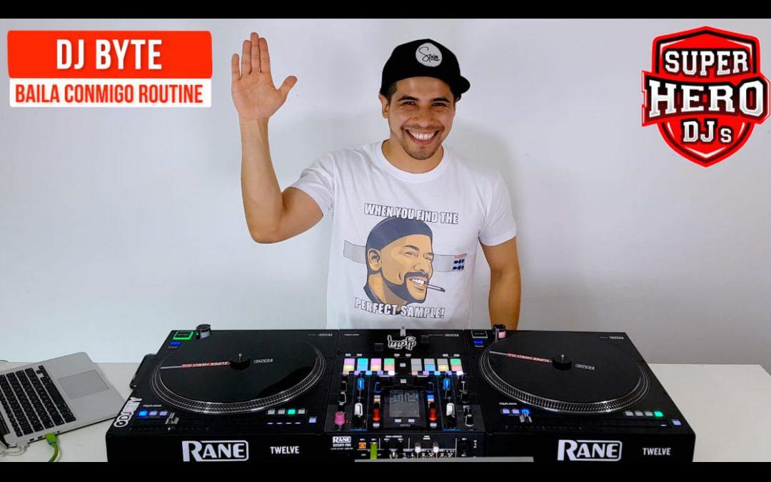 DJ BYTE – Baila Conmigo Routine