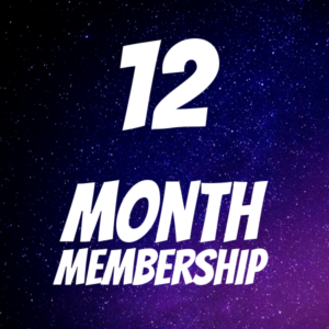 12 MONTH MEMBERSHIP - Logo