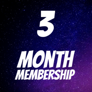 3 MONTH MEMBERSHIP - Logo