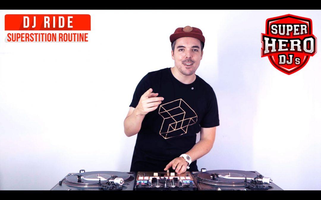DJ RIDE – SUPERSTITION Routine