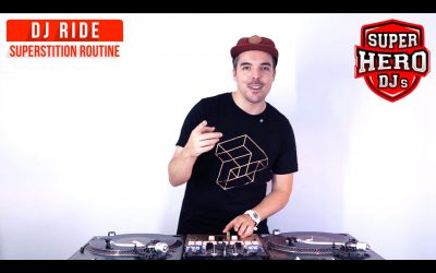 DJ RIDE – SUPERSTITION Routine