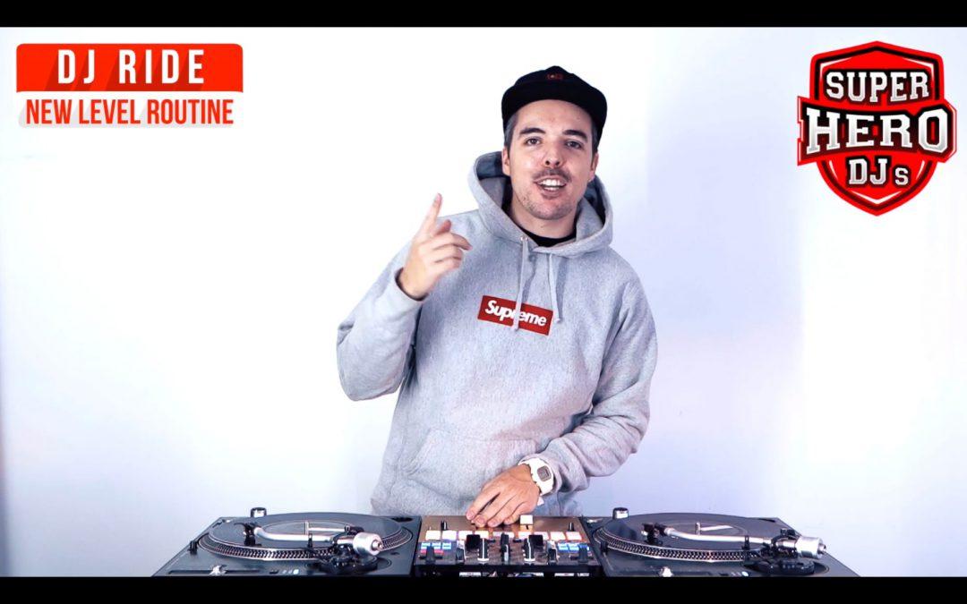 DJ RIDE – New Level Routine