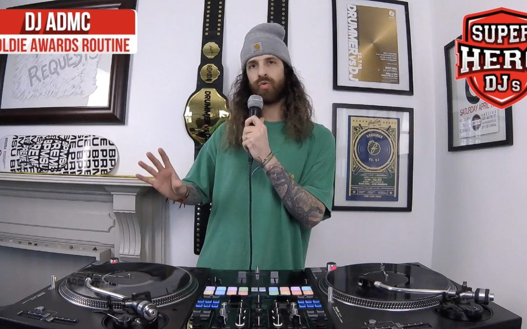 DJ ADMC – Goldie Awards Routine