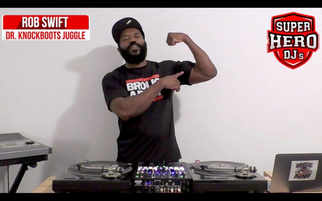 ROB SWIFT – Dr. Knockboots Juggle