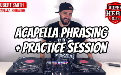 DJ ROBERT SMITH – Acapella Phrasing